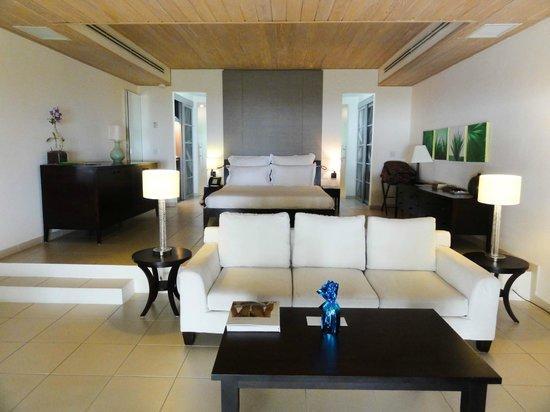 Carlisle Bay Antigua : Wonderful modern luxury rooms -