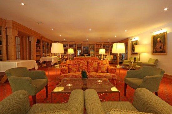 Alpenhotel Quadratscha: Lobby Quadratsch