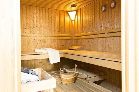 Alpenhotel Quadratscha: Sauna