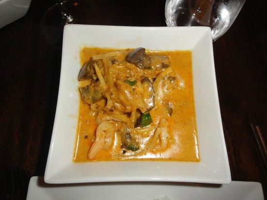 Carlisle Bay Antigua: Amazing curries!