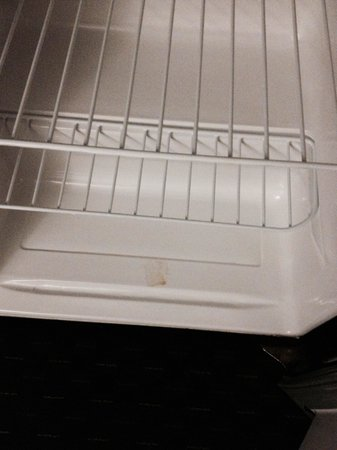 Best Western Inn: Dirty fridge (had moldy freezer section)