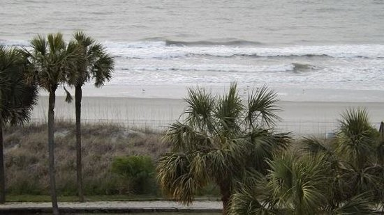 DoubleTree Resort by Hilton Myrtle Beach Oceanfront: Another picture of the beach from our balcony