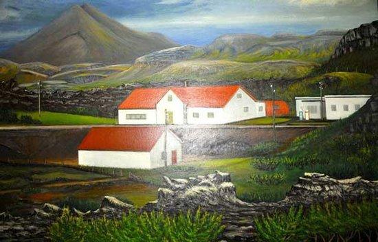 Grabrok Hredavatnsskali : Hreðavatnsskáli in original form