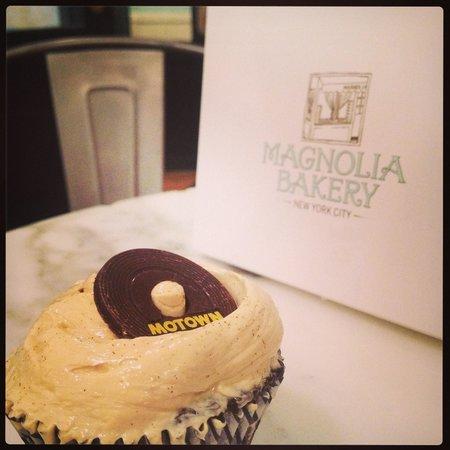 Magnolia Bakery: Motown cupcake