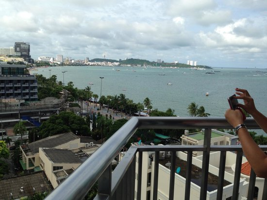 Holiday Inn Pattaya: View from the room