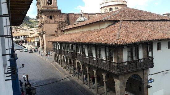Plaza de Armas Cusco Hotel: vista