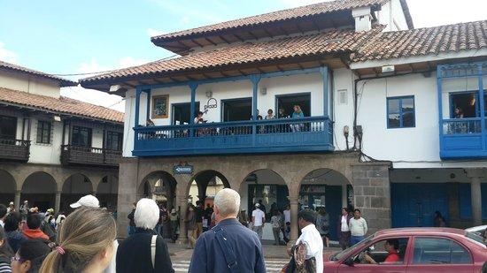 Plaza de Armas Cusco Hotel: frente del hotel