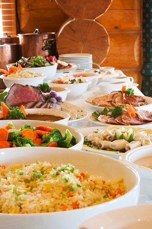 Echo Valley Ranch & Spa: Lunch Buffet