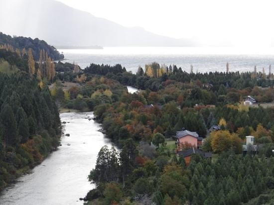 Rio Mel Lodge: Rio Mel desde arriba