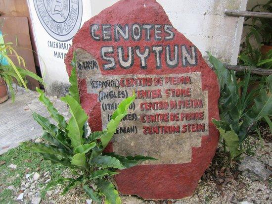 Suytun Cenote: Excelente