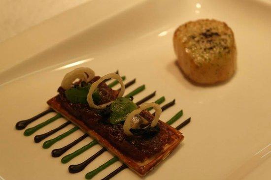 Castle Terrace Restaurant: Scallops!