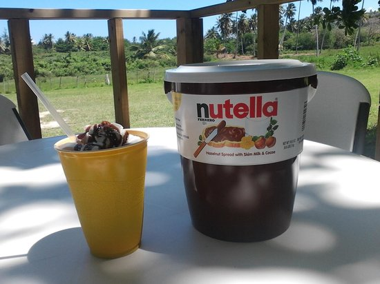 El Anzuelo Grill and Cantina : nutella frappe
