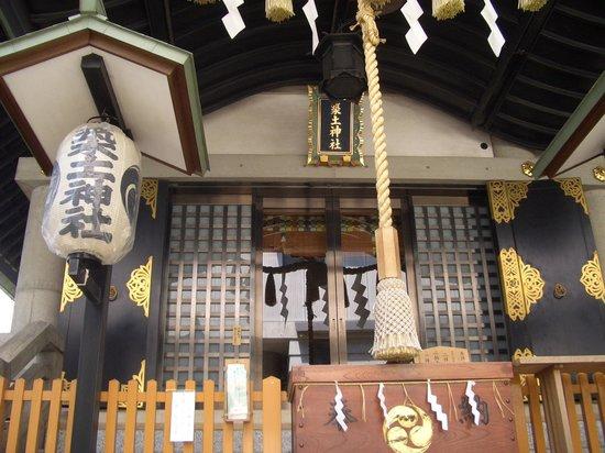 Tsukudo Shrine: 築土神社