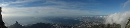 Tafelberg: Panoramic view from Cape Town