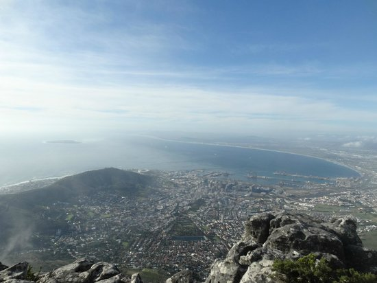 Tafelberg: Cape Town from the top