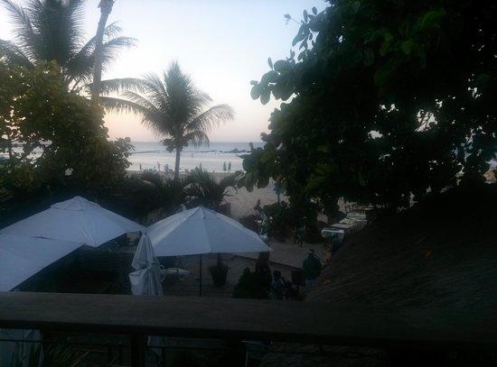 Le Terrace Beach Hotel: Entardecer do Quarto Caju
