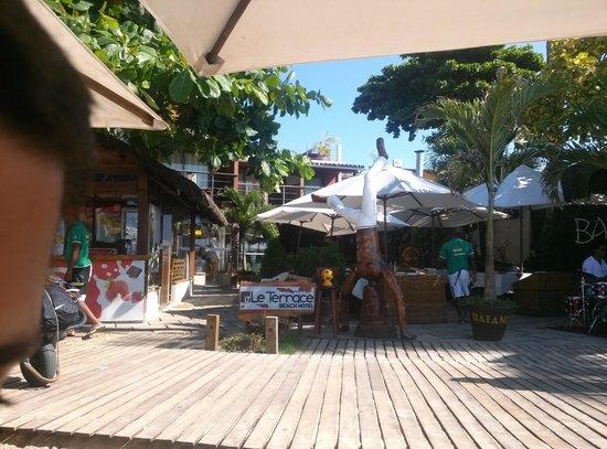 Le Terrace Beach Hotel: Fachada