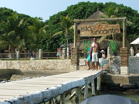 Hotel Isla del Encanto: O cais de desembarque