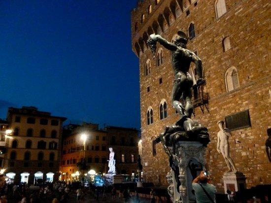 Piazza della Signoria : Plaza de la Señoría