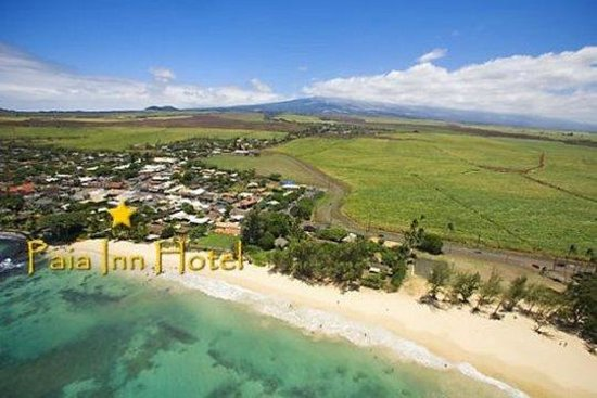 Paia Inn Hotel: Aerial Of Paia Inn