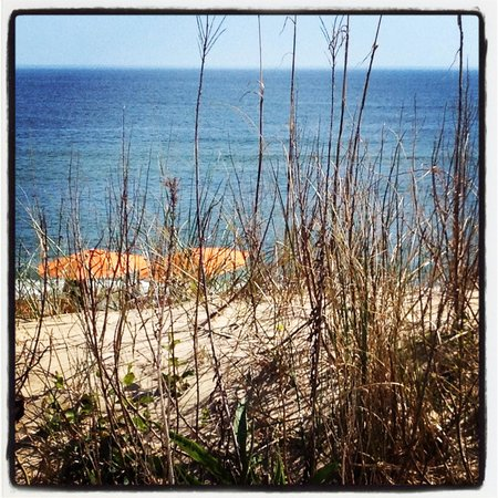 Sanderling Resort: The view from my beach chair!