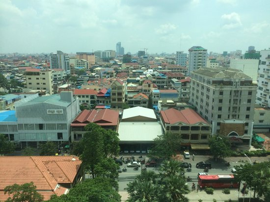 The Great Duke Phnom Penh: View from the room