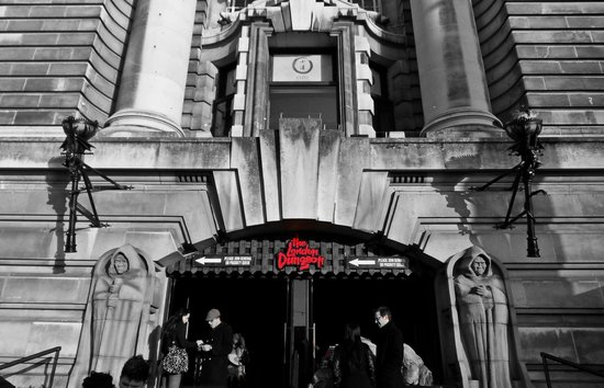 The London Dungeon: entrada