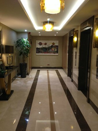 Renaissance Istanbul Polat Bosphorus Hotel: lobby toward elevators