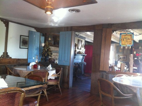 Inside Upstairs Picture Of The Log House 1776 Restaurant
