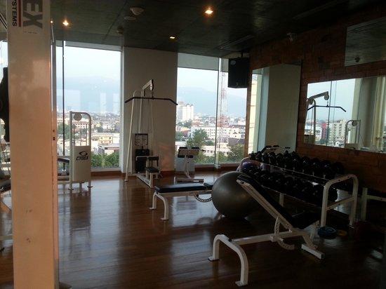 Dusit D2 Chiang Mai : The gym