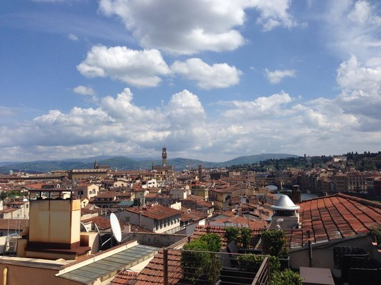 The Westin Excelsior Florence : View from roof
