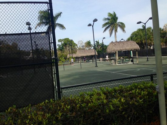 Cambier Park: Tennis courts