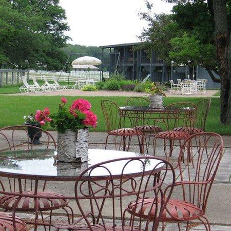 Birchwood Inn: Courtyard