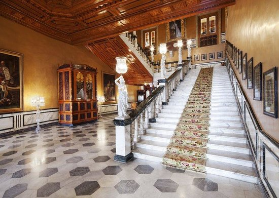 Taj Falaknuma Palace : Staircase