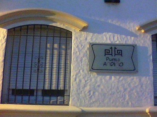 Hostal Pueblo Andino : Frente del hotel