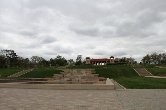 View of the pavillion in Forest Park