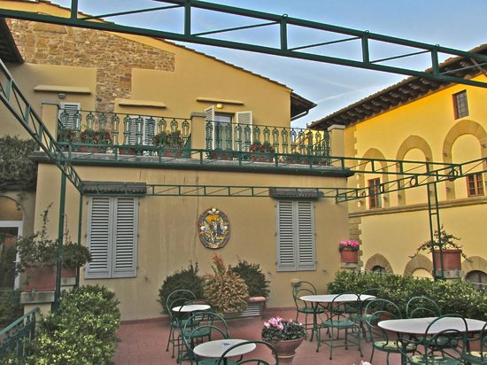 Hotel Berchielli : Rooftop garden