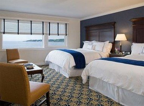 Newport Beach Hotel and Suites : Beach View Two Queens