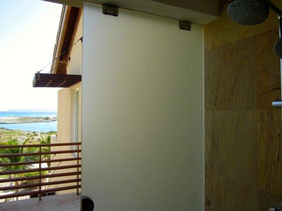 Alsol Del Mar : Indoor/Outdoor shower