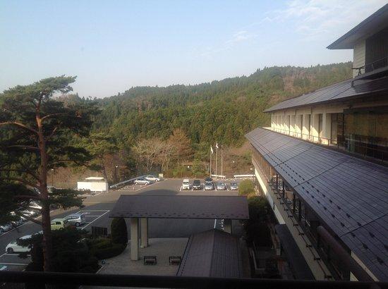 Hotel Taikanso: car park
