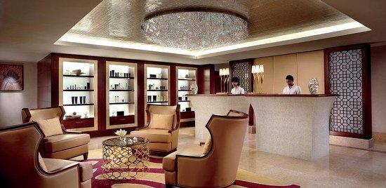 The Ritz-Carlton, Bangalore: An interior shot of The Ritz-Carlton Spa reception