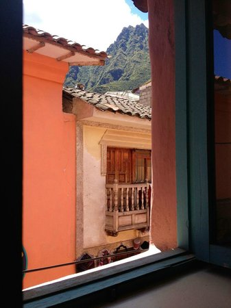 Pisac Inn : View from bedroom window