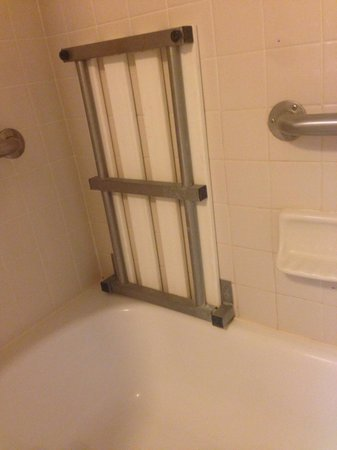Fairfield Inn & Suites Clearwater: Shower chair