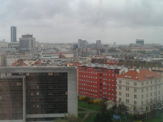 Corinthia Hotel Prague : Vista desde la habitacion en el piso 15