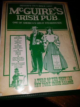 McGuire's Irish Pub: Memorable. ..