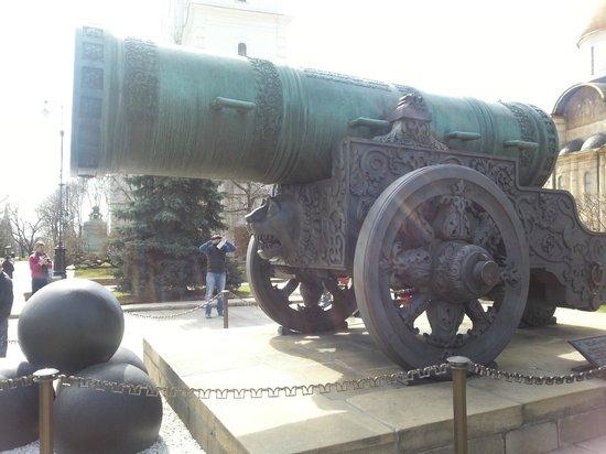 Kremlin: Царь-Пушка