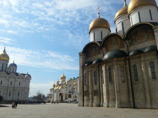 Kremlin: Соборная площадь