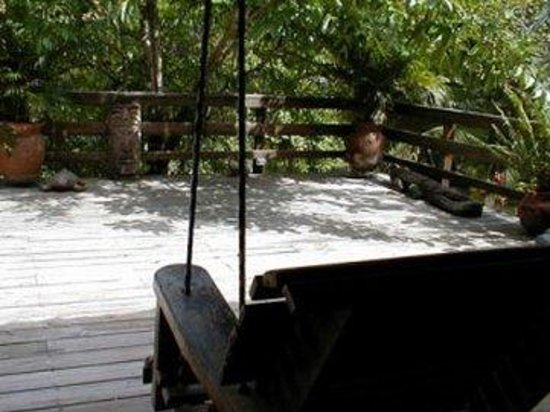 Crystal Paradise Resort : Enjoy a hot coffee or fresh natural juice with this view from our open dinging deck.