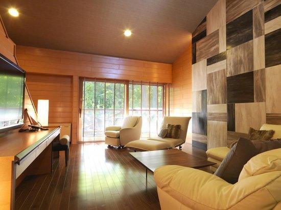 露天風呂付コテージ客室 Cottage ...