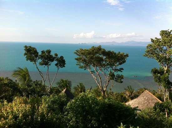 Four Seasons Resort Koh Samui Thailand: View from the lounge